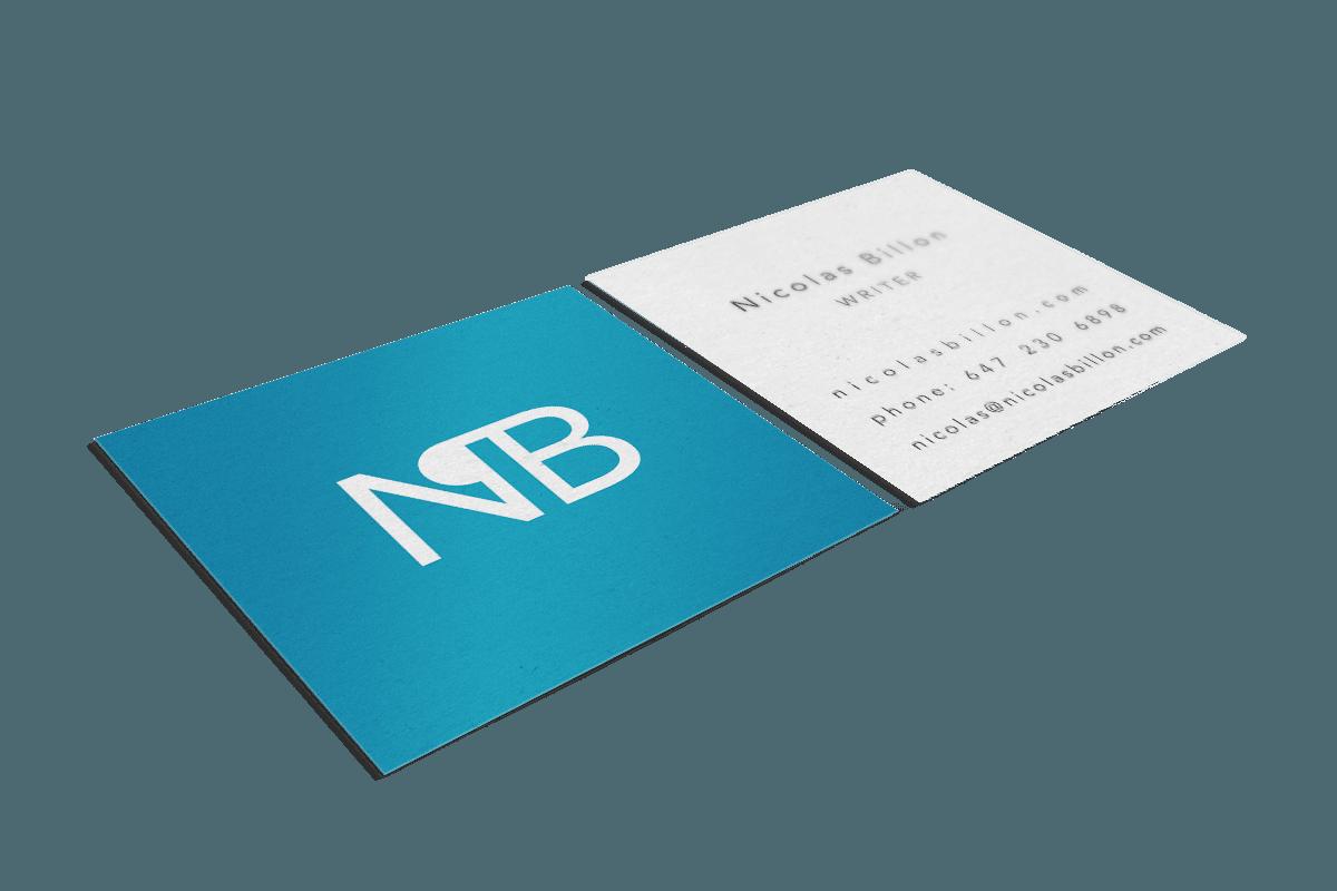 Nicolas Billon - Business Cards