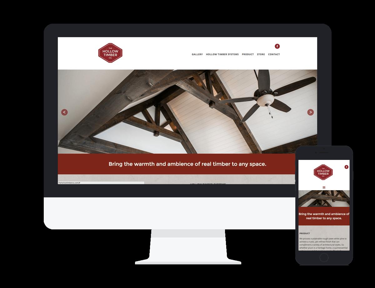 The Hollow Timber Co. - Website Design & Development