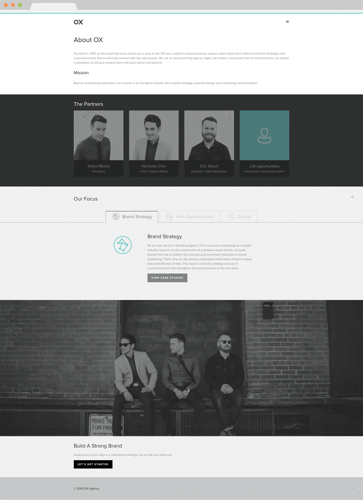 OX Agency - Website Design & Development