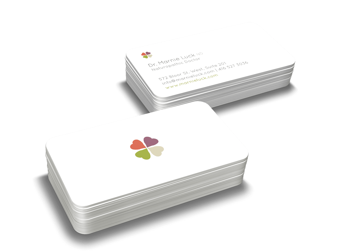 Dr. Marnie Luck - Business Cards