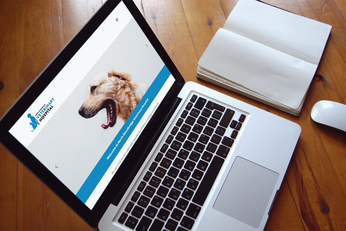 North Woodbridge Veterinary Hospital - Website Design & Development
