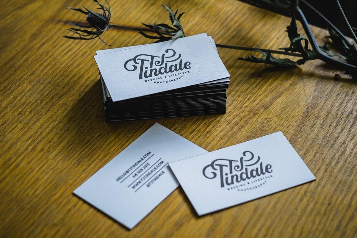 TJ Tindale - Business Card Design