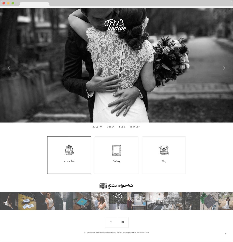 TJ Tindale - Website Design & Development