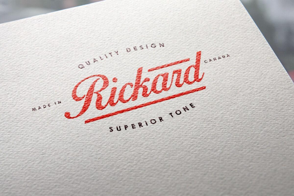 Rickard - Visual Identity