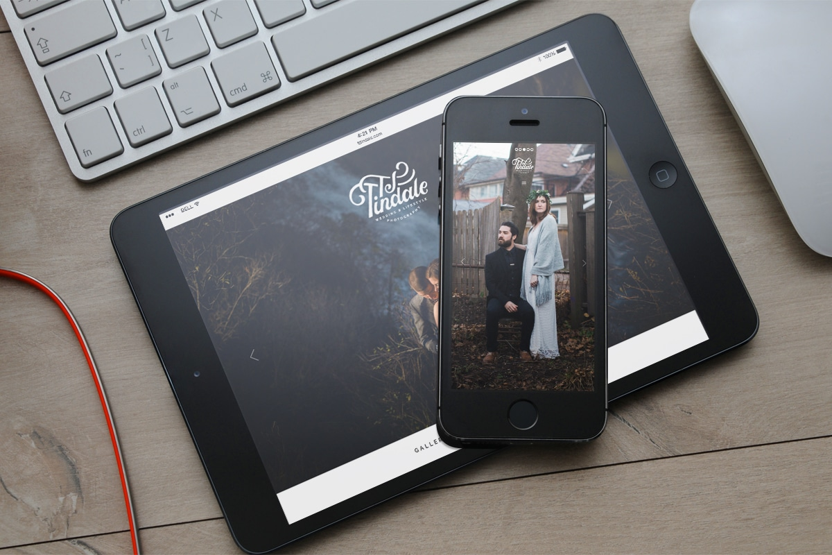 TJ Tindale - Branding, Website Design & Development